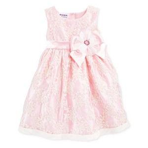 Blueberi Boulevard Pink Flower Sleeveless Dress